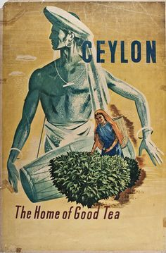 HAGENBECK/'S ceylon thee VINTAGE ad poster LUDWIG berwald SRI LANKA 1899 24X36