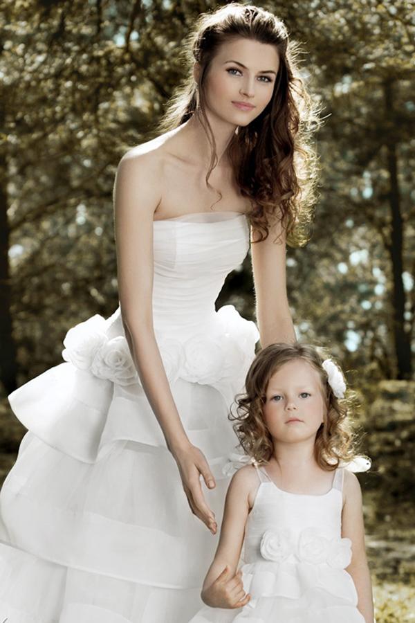Vestido de novia madre hija