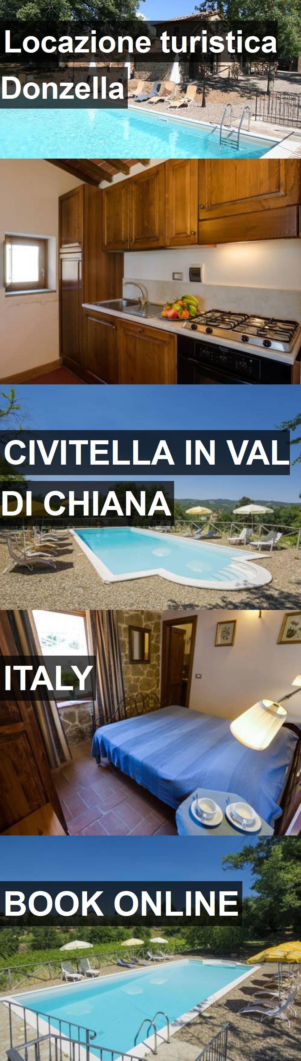 Hotel Locazione turistica Donzella in Civitella in Val di