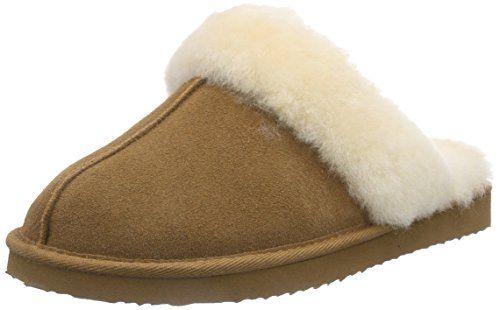 ara Cosy, Damen Pantoffeln, Braun (Hellbraun), 39 EU - http://on-line-kaufen.de/ara/39-eu-ara-cosy-damen-pantoffeln