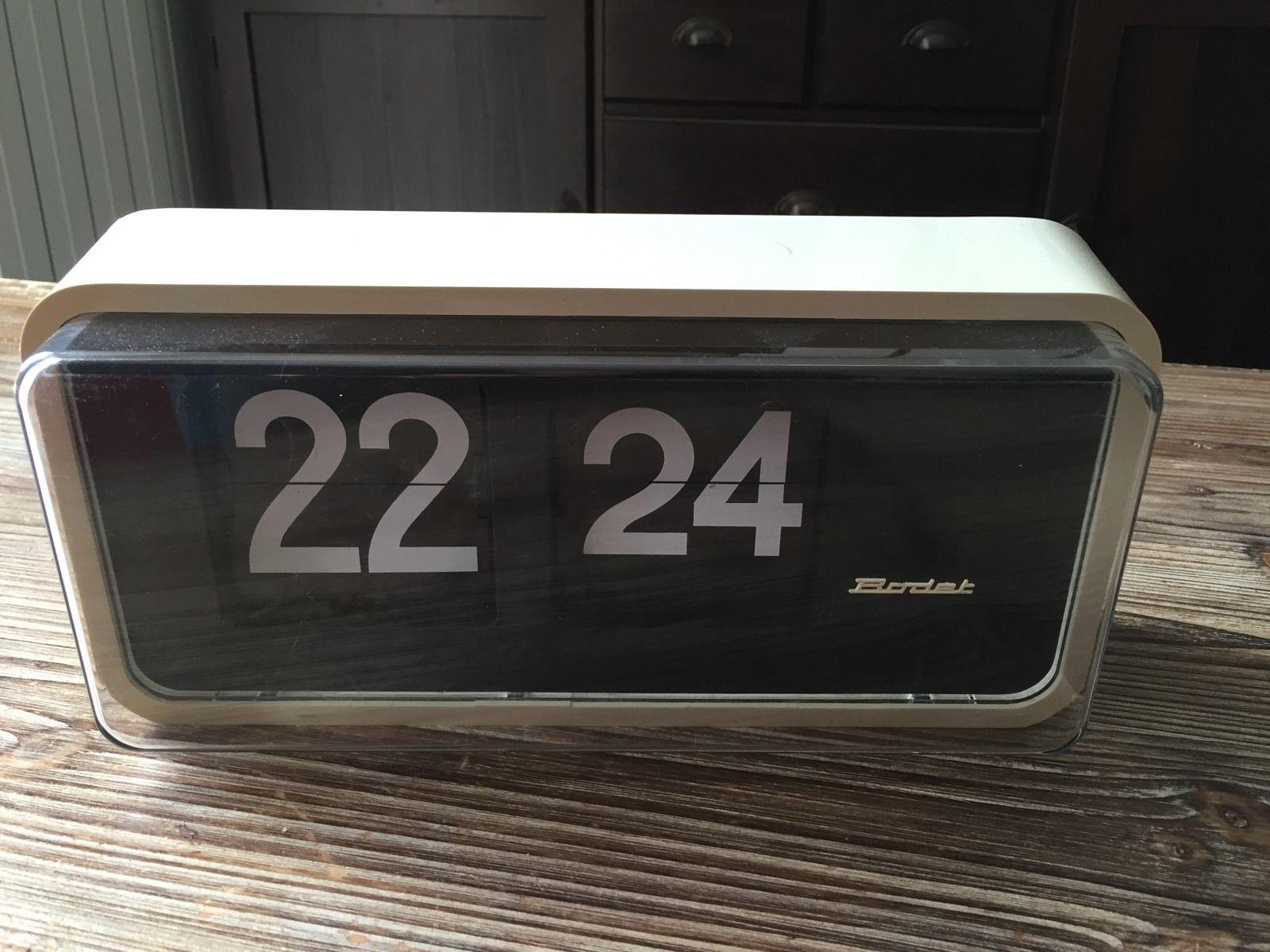 horloge bodet palettes avec boitier blanc vintage bodet pinterest vintage. Black Bedroom Furniture Sets. Home Design Ideas