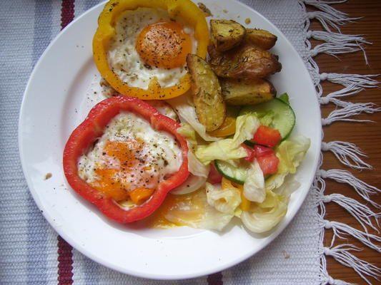 Papryka z jajkiem