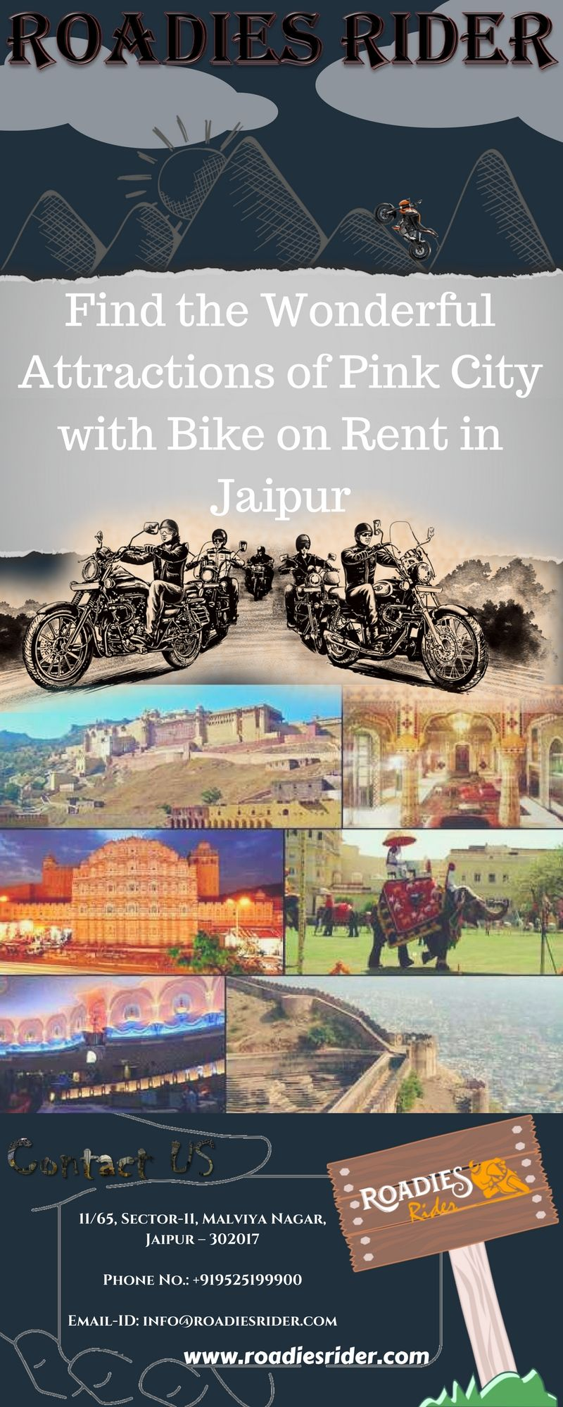 Bike On Rent In Jaipur Hire Or Rent A Bike On Hourly Or Daily