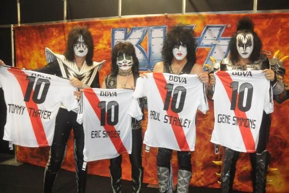 Kiss en River Plate  #CARP #RiverPlate