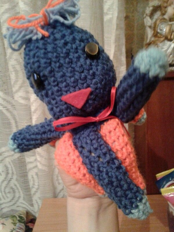 Marionetta polipo Holly Lab | Giochi da fiaba | Pinterest