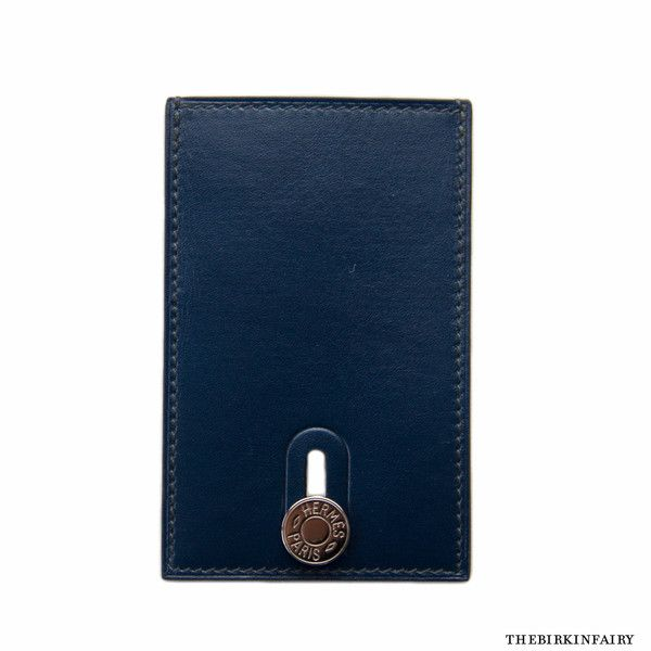 Hermes leather card case with clou de selle detail new leather impress your friends with an hermes business card holder easy to insert cards and slide colourmoves Gallery