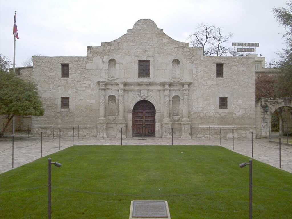 Mission San Antonio De Valero Texas Pinterest
