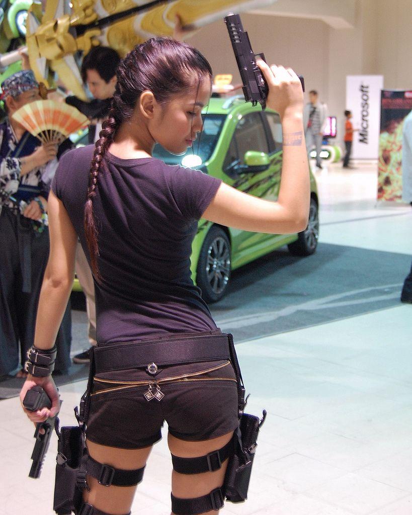 Shindlex Lara Croft Tomb Raider #cosplay Cosplay