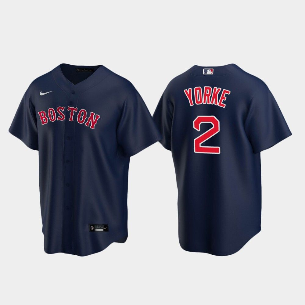 Nick Yorke Red Sox 2020 Mlb Draft Jersey Navy In 2020 Red Sox Boston Red Sox Jersey