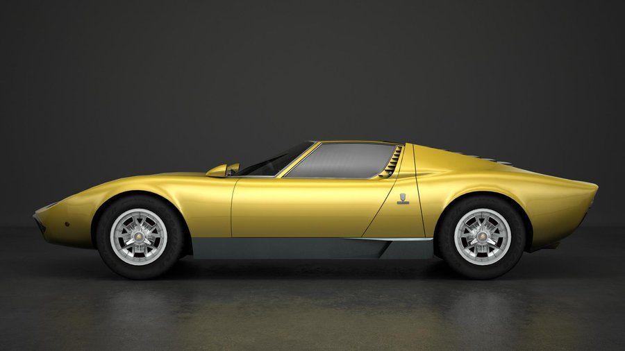 1968 Lamborghini Miura Lamborghini Lamborghini Lamborghini