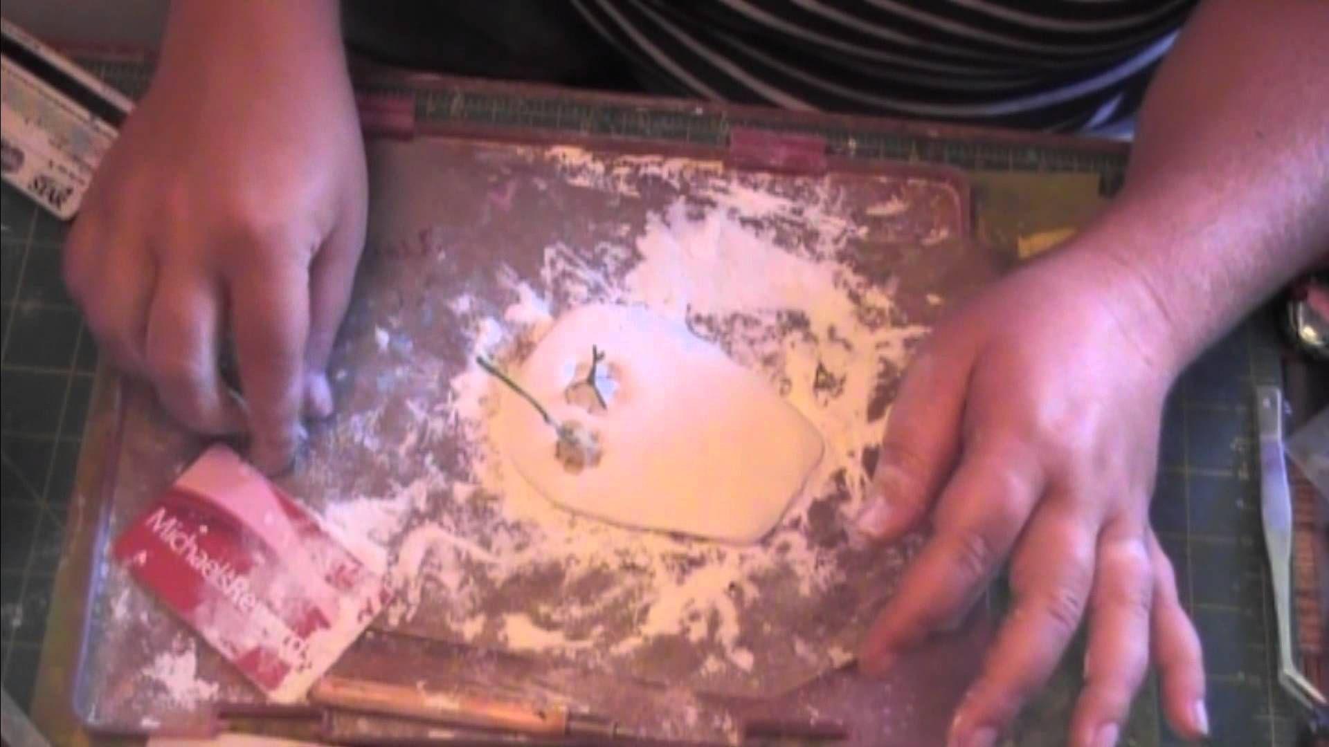 Economical Silicone Molding tutorial, via YouTube