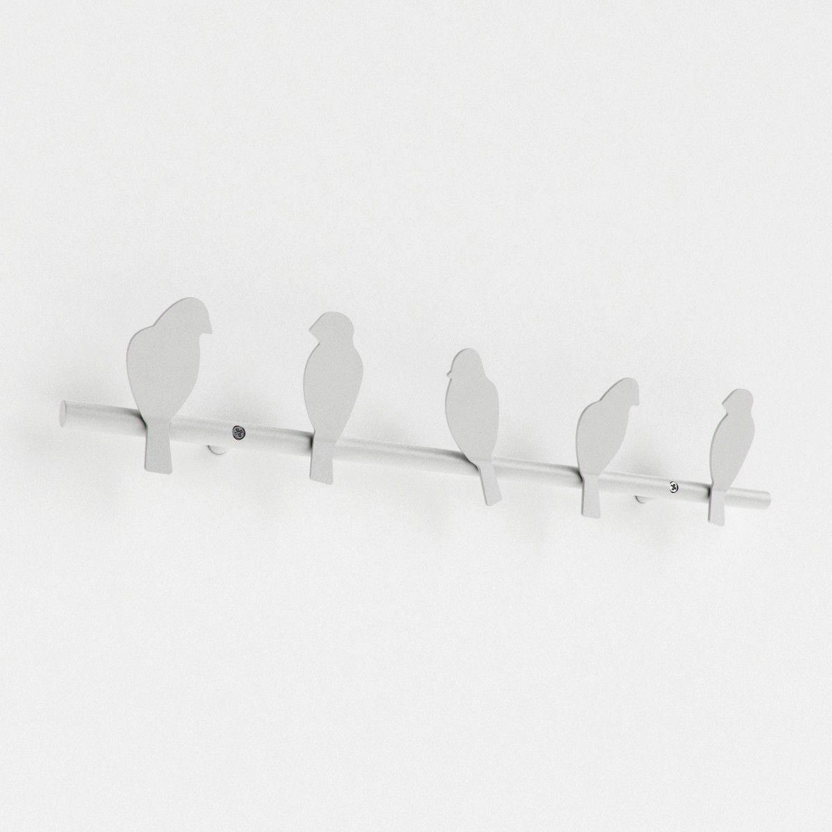 Wire Coat Hanger White   Home decoration ideas Interior design ...