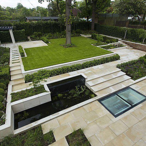 Contemporary Landscaped Garden