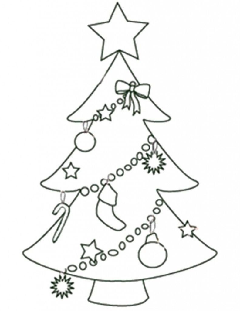 Free Printable Christmas Tree Templates | sablon | Pinterest ...
