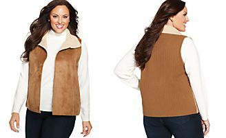 Charter Club Faux-Shearling Vest