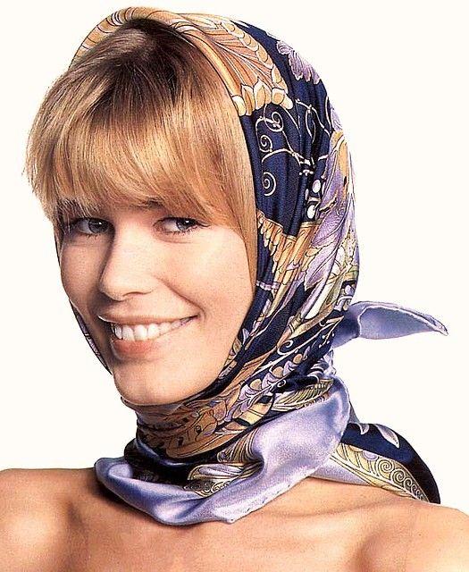 hair scarf tying | Head Scarves | Head Scarf: How To Wear ...