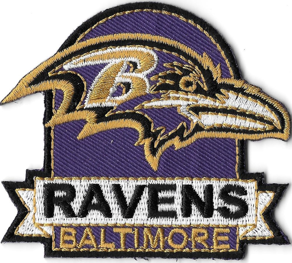 4e71260035306d This Is A Cool Baltimore Ravens Patch For My Denim Jacket Idea   My ...