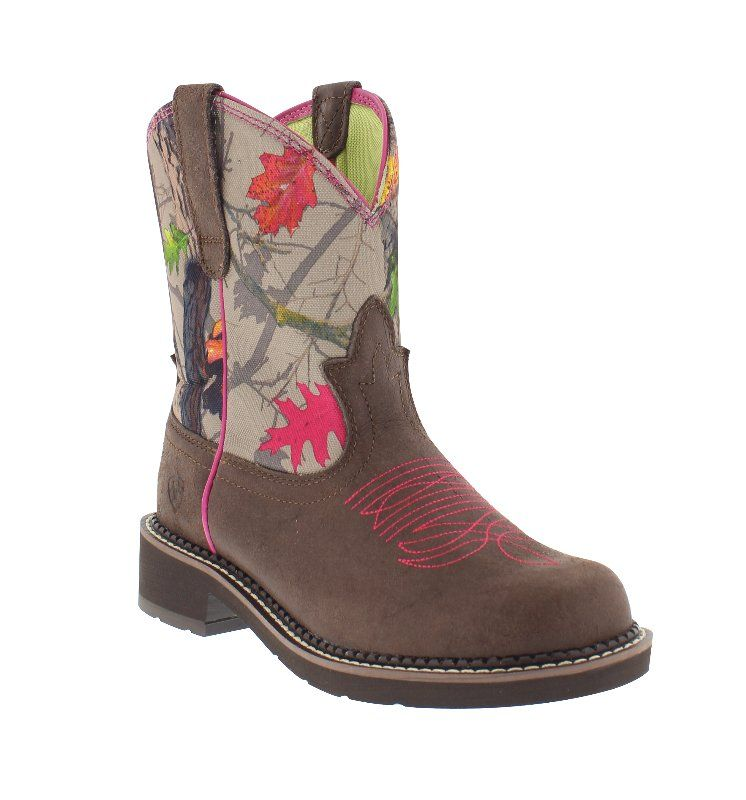 b2a9dab646f HOTLEAF is THE camo pattern of #Fall2015! Ariat Women's 8