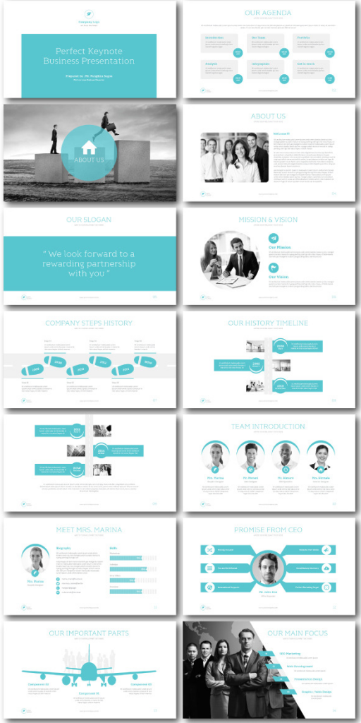 The Good Pitch  Keynote Template  Presentation Design The O