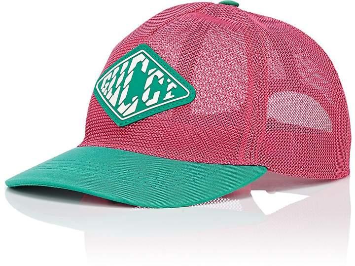 72caa4c3be4 Gucci Men s Logo Mesh Baseball Cap  BaseballInformation