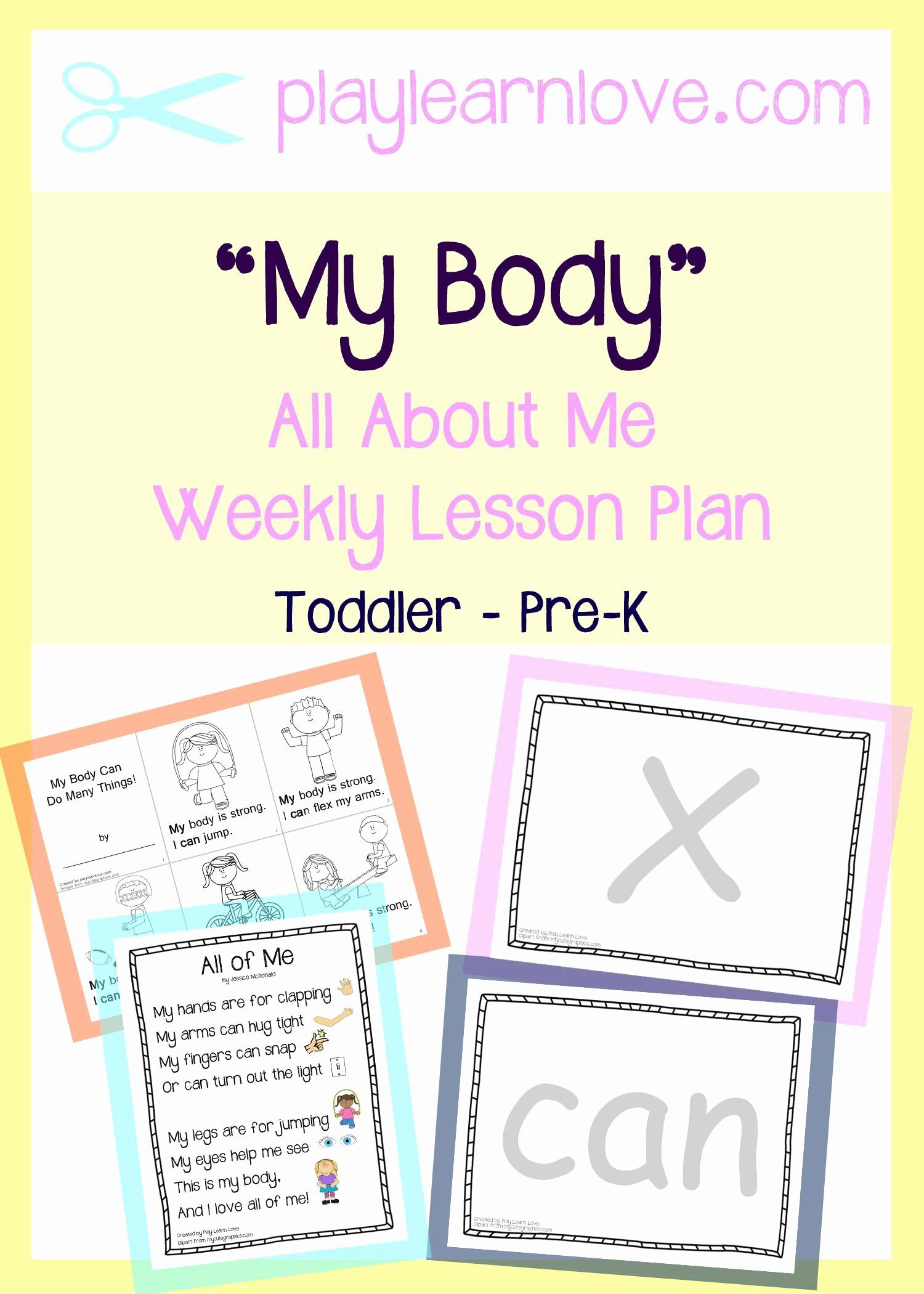 Lesson Plans For Toddlers Inspirational All About Me My Body Lesson Plan From Play Lear Lesson Plans For Toddlers All About Me Preschool Preschool Lesson Plans [ 2100 x 1500 Pixel ]
