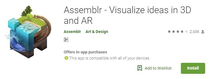 Assemblr In this list the First best Visual Effects Apps for Android