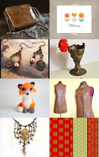 Welcome to October by Julie Sumerta on Etsy--Pinned with TreasuryPin.com