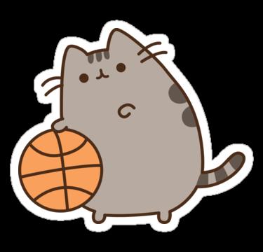 Quot Pusheen Basket Quot Stickers By Reun Redbubble Pusheen En