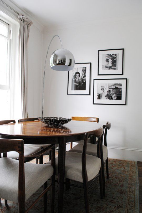 Antonia And Cinzia S Calming Casa In Notting Hill Home Dining Room Furniture Living Dining Room