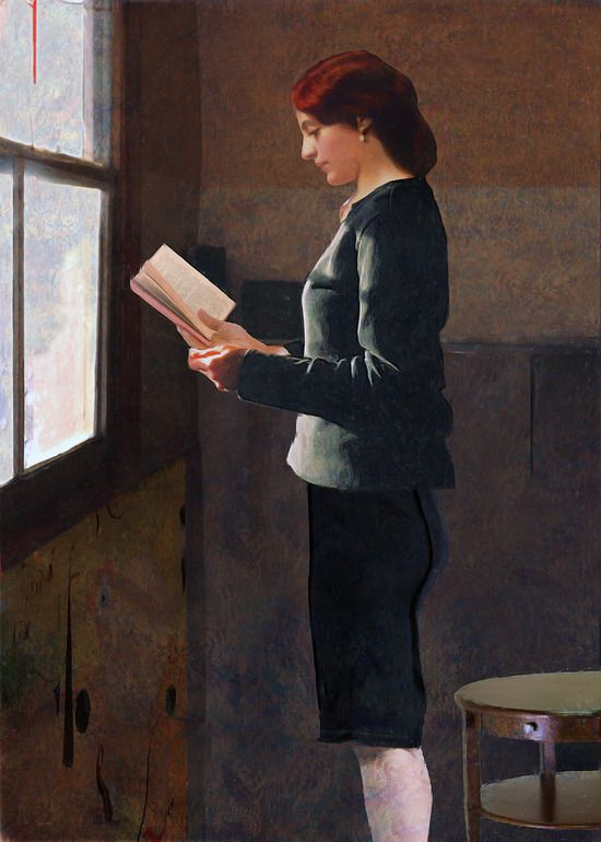 "Pietro Campa - ""La lettrice"" (The reader), 2011"