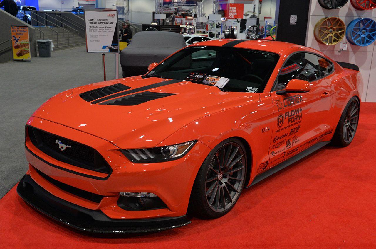 American Muscle Cars… SEMA 2014: CorteX Racing 2015 Ford Mustang ...