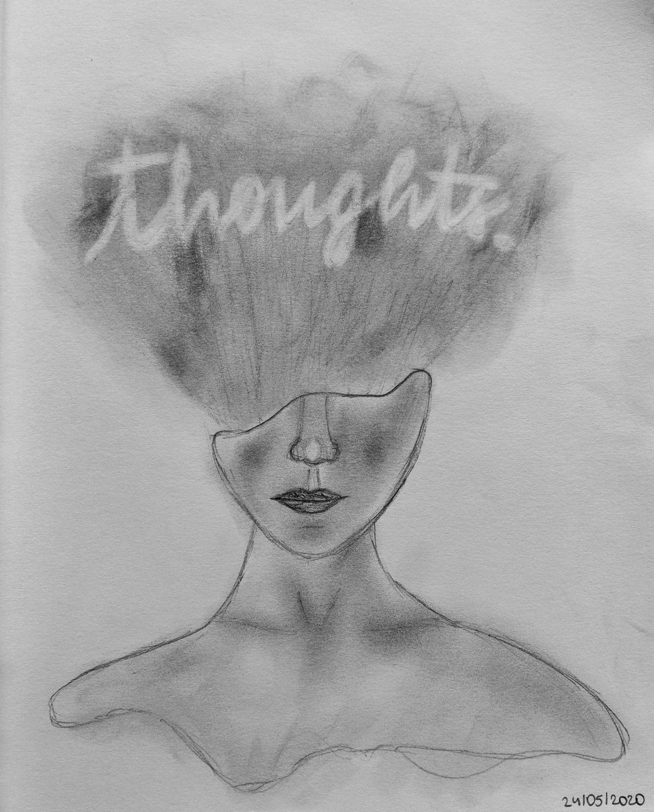 Thoughts Drawing : thoughts, drawing, Notes