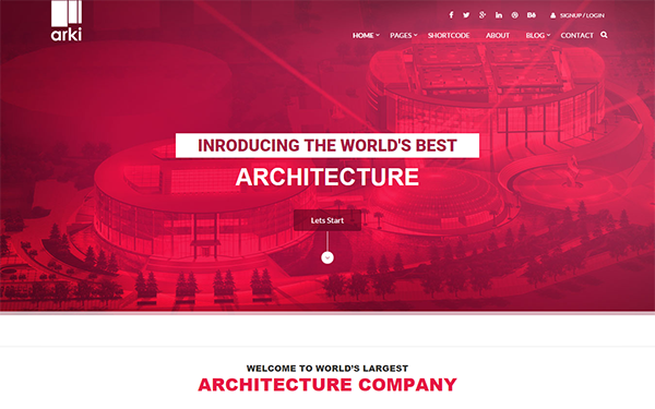 Arki - Architecture HTML Template | Template and Architecture