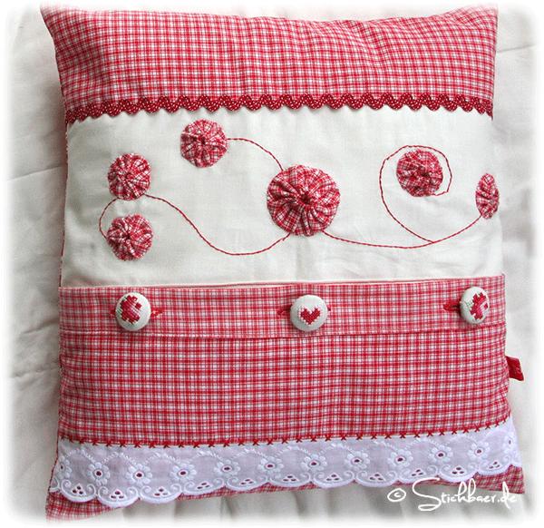 knopfparade pillow talk pinterest kissen bleistiftrock anleitung und kissen n hen. Black Bedroom Furniture Sets. Home Design Ideas