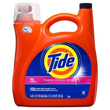 Household Essentials Laundry Detergent Liquid Tide Liquid
