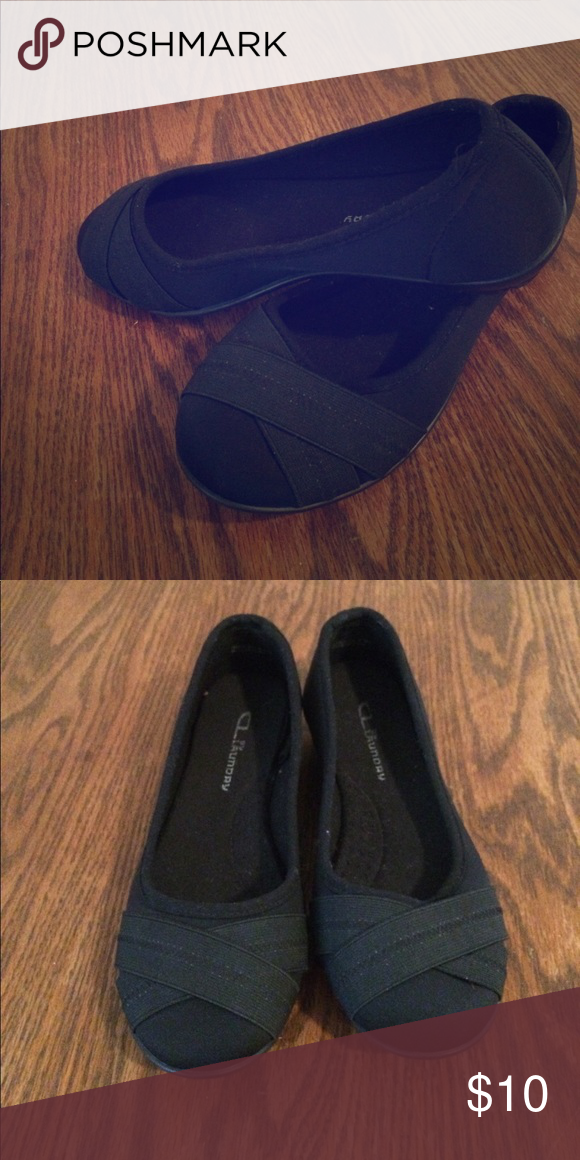 3529ab03008 Woman s black flats Cute and comfy! Great for casual wear! Excellent used  condition! Shoes Flats   Loafers