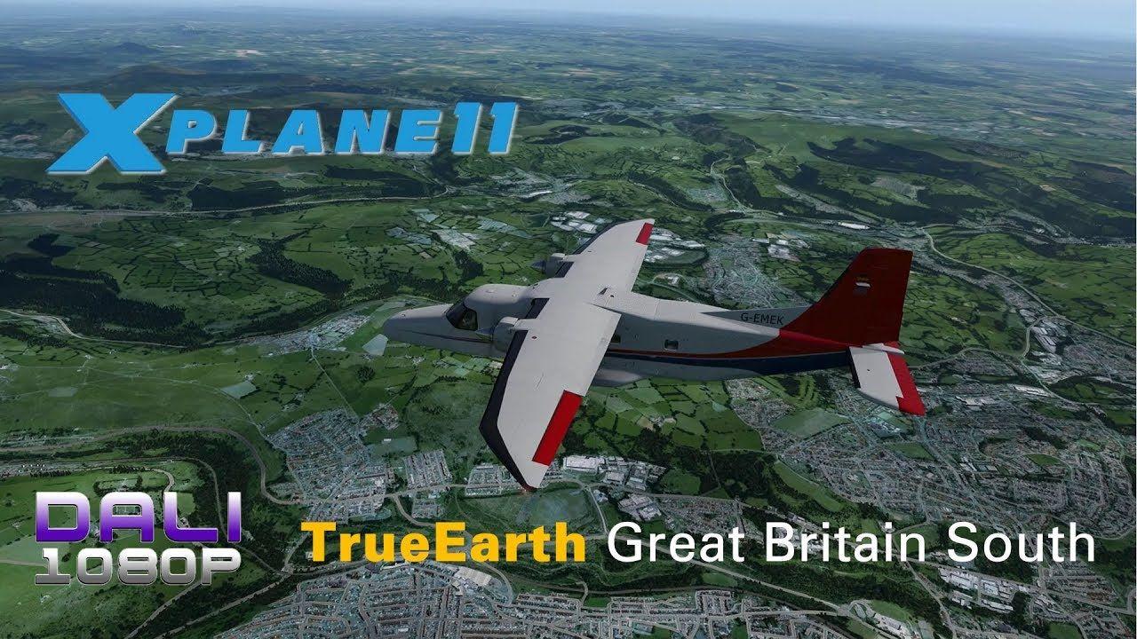 ORBX TrueEarth Great Britain South for XPlane 11 Dornier