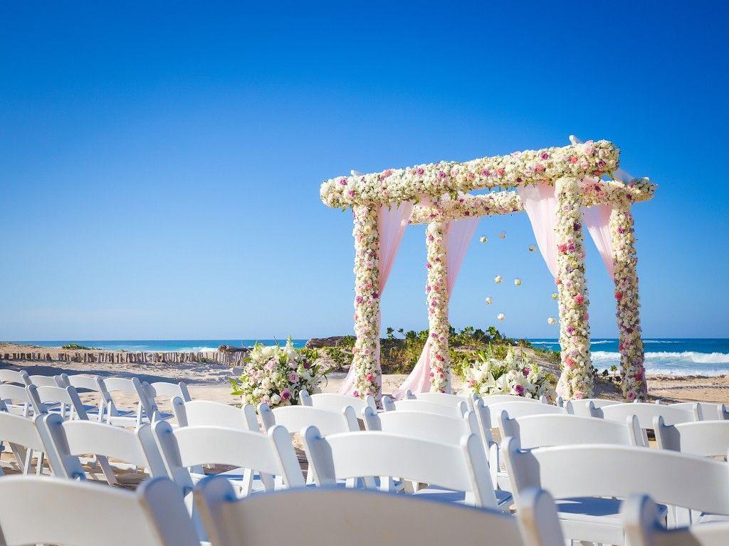 Wedding Ceremony At Hard Rock Hotel Punta Cana