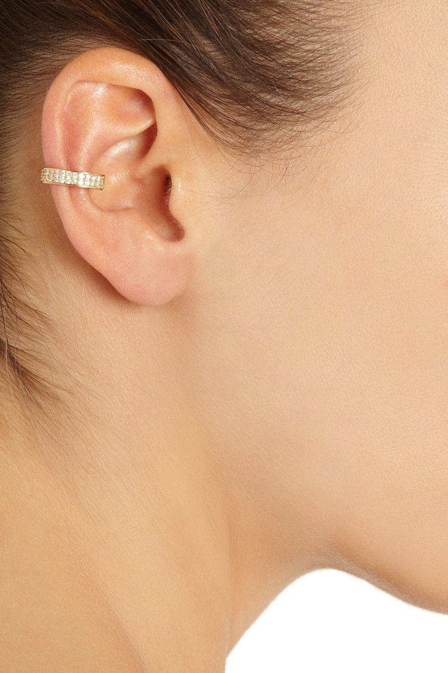Anita Ko 18-karat Rose Gold Ear Cuff K2cL7