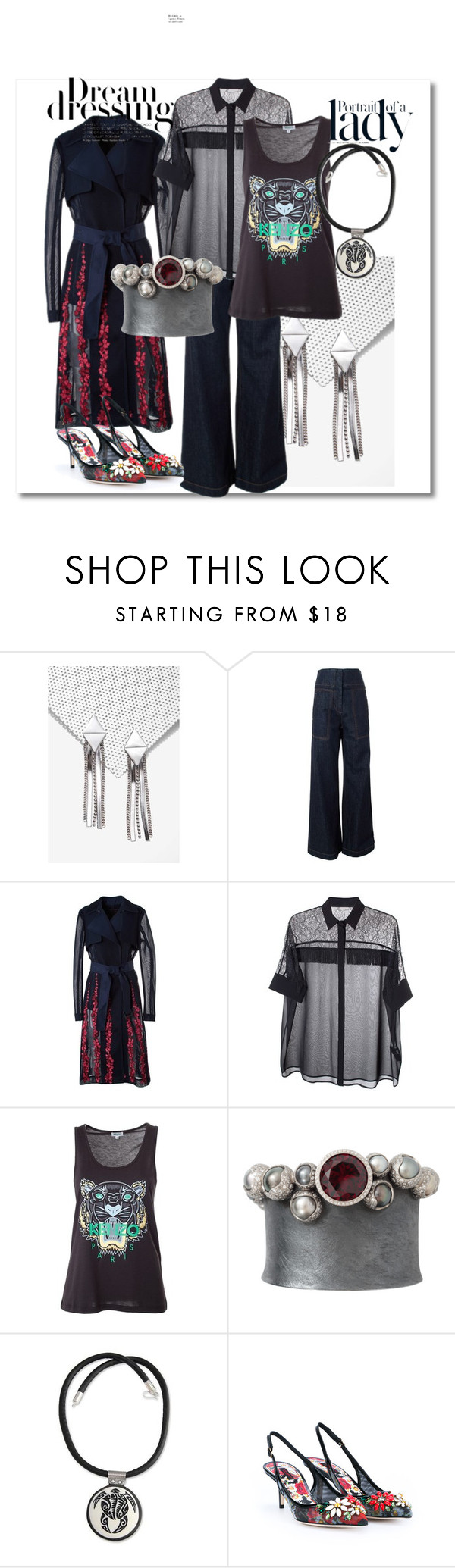 """""""dream dressing"""" by peeweevaaz ❤ liked on Polyvore featuring Marni, BCBGMAXAZRIA, Versace, Kenzo, Todd Reed, NOVICA, Dolce&Gabbana, Inez & Vinoodh, DateNight and partystyle"""