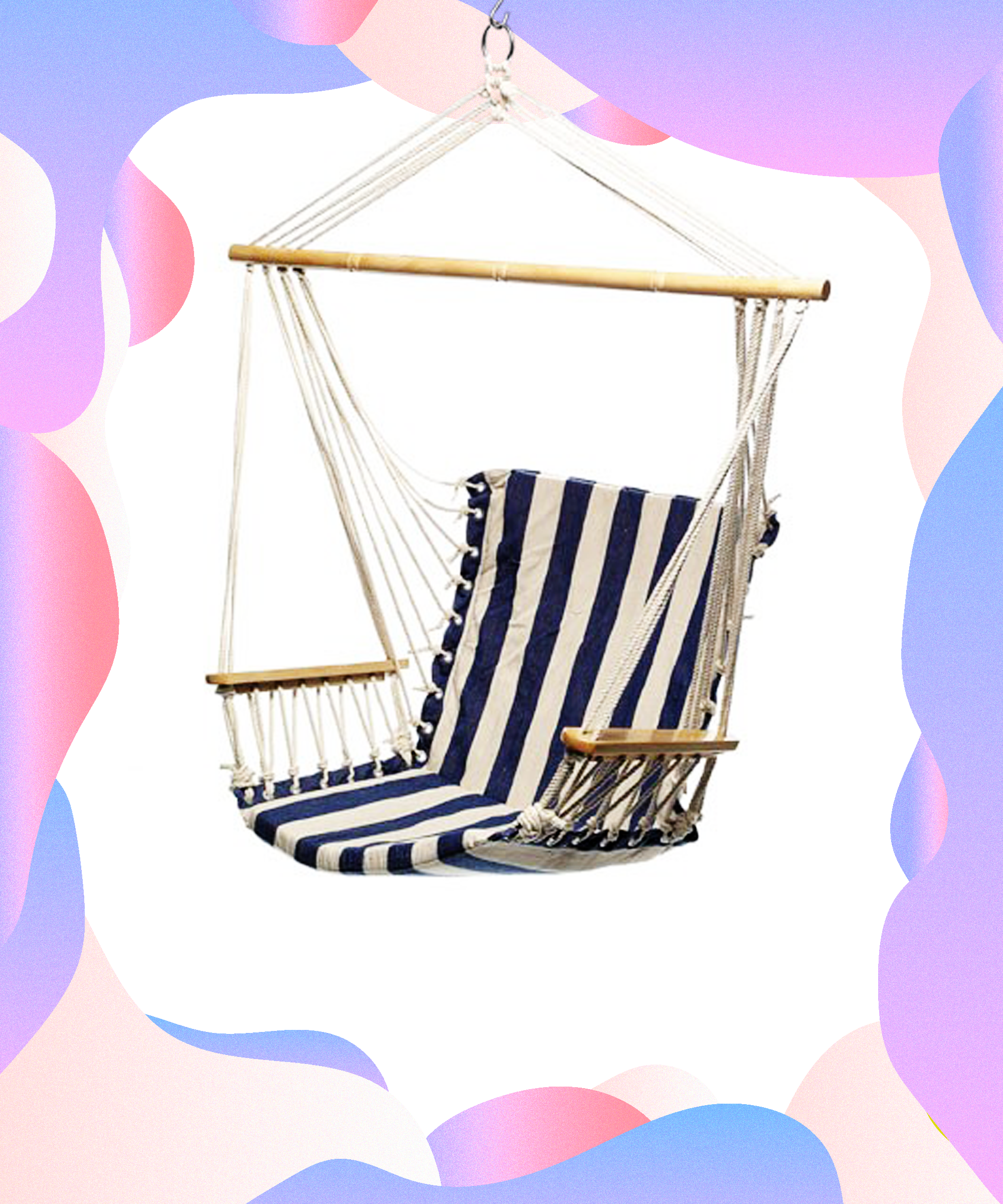 Get ready to meet your summer relaxation goals hammock chair dorm