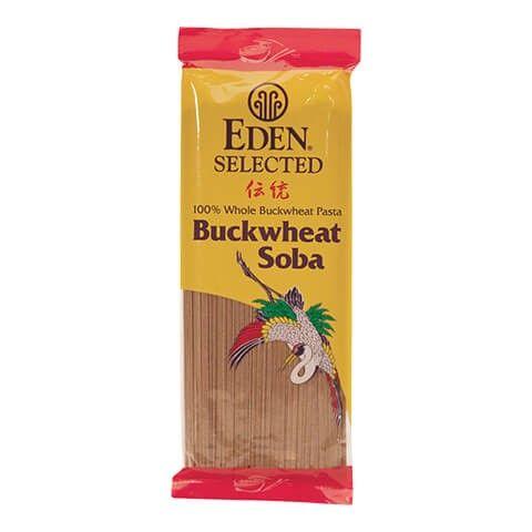 Soba 100 Buckwheat Organic Eden Foods Buckwheat Buckwheat Pasta