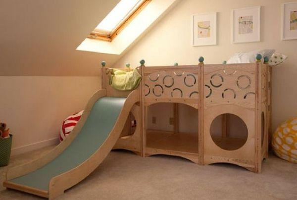 Kinderbetten tolle designs holzrutsche kinderzimmer und for Kindermobel vintage