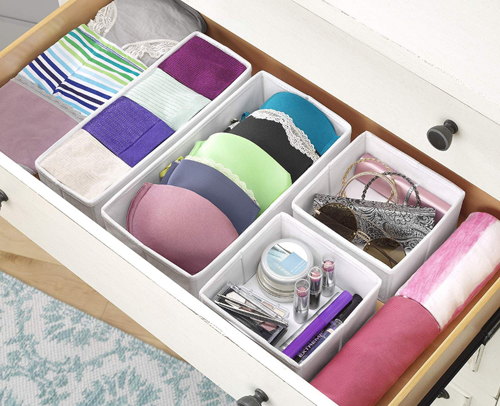 Amazon Com Whitmor Drawer Organizer White Gateway Drawer