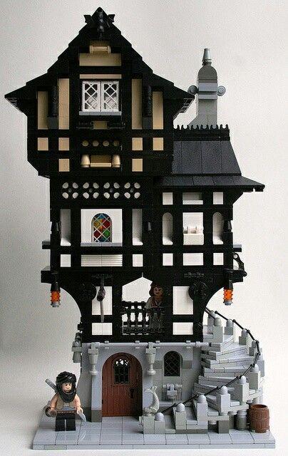 lego medieval apartment lego pinterest lego lego haus und lego bilder. Black Bedroom Furniture Sets. Home Design Ideas