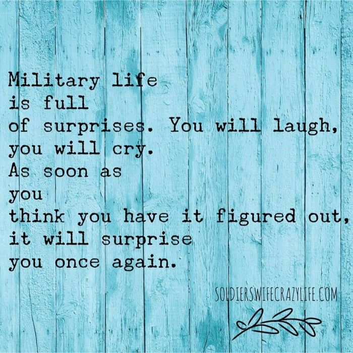Memes For Military Spouses About Military Life - Soldier's Wife, Crazy Life