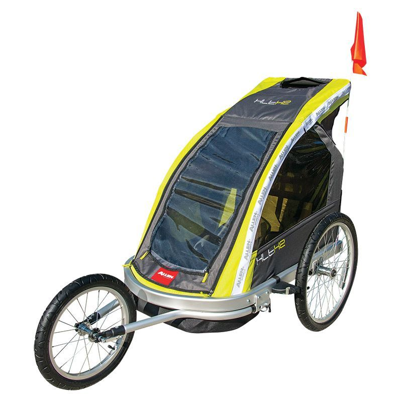 Allen Sports XLTX2 Double Bike Trailer and Stroller