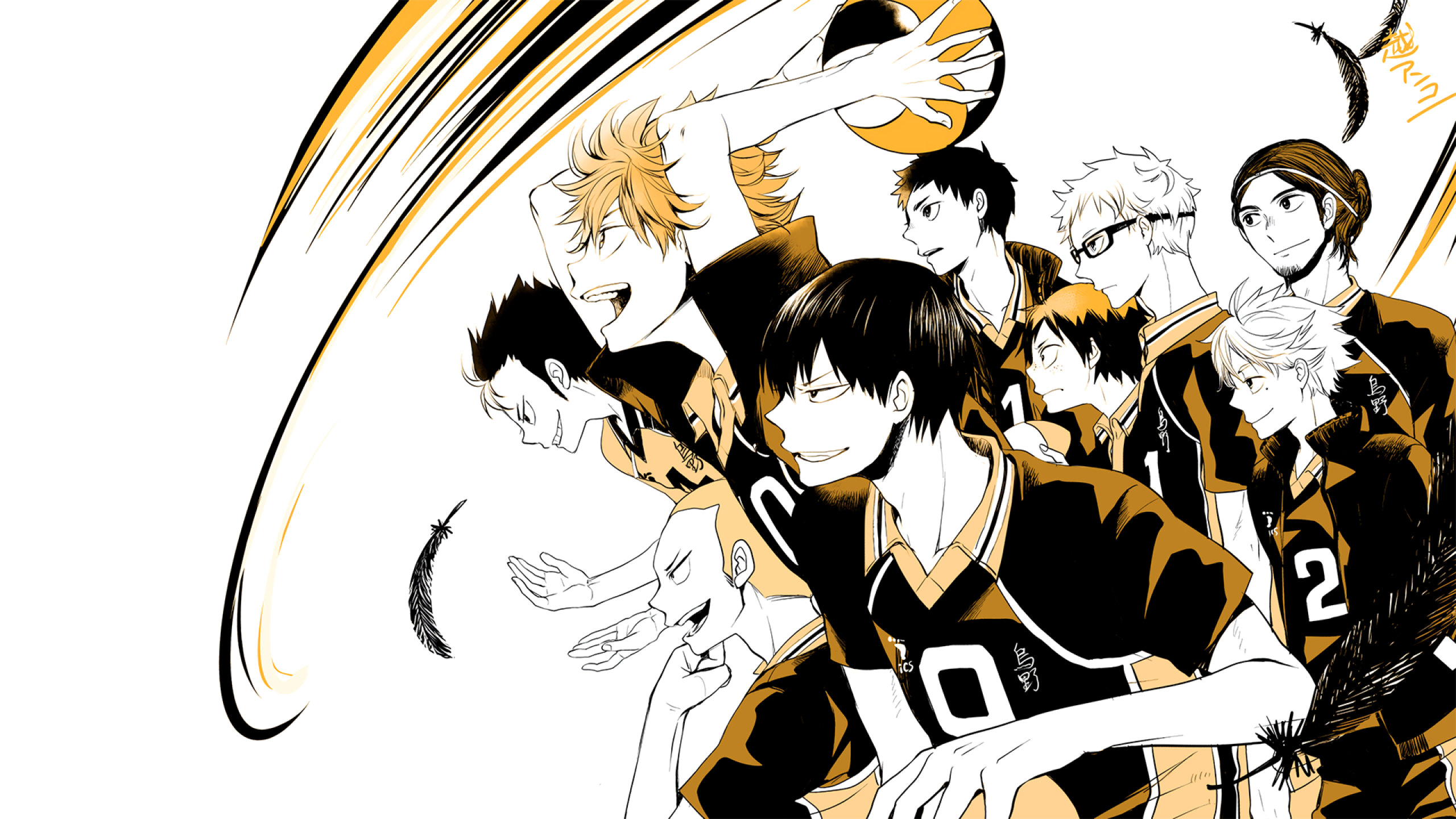 Image result for 2560 x 1440 haikyuu | weeb shit | Haikyuu, Haikyuu