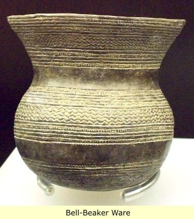 The Bell Beaker Culture Ca 2800 1900 B C Is The Term For A Widely Scattered Cultural Phenomenon Of Arte De La Prehistoria Arte Prehistorico Arte En Espana