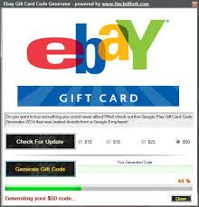 Pin By Hot Trill On Ebay Buys With Free Gift Cards Ebay Gift Gift Card Generator Google Play Gift Card